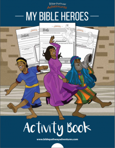 My Bible Heroes Activity Book