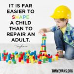 shaping children - image from tonyevans.org