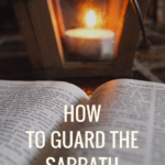 How to Guard the Sabbath