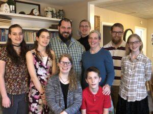 Elliott Family April 2020
