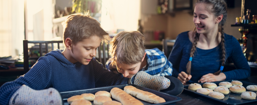 Homemade Bread, Housework, and Homeschooling?!
