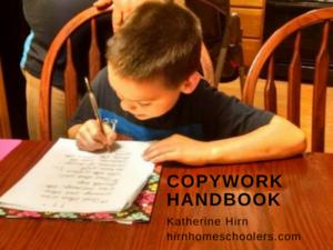 Copywork Handbook | Hirn Homeschoolers