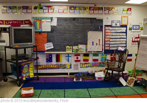 Decorated Classroom Walls | Homeschooling Torah