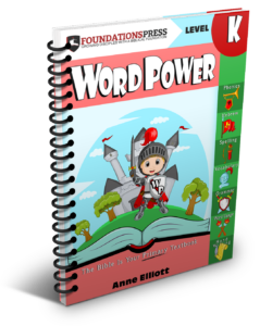 Word Power cover - kindergarten