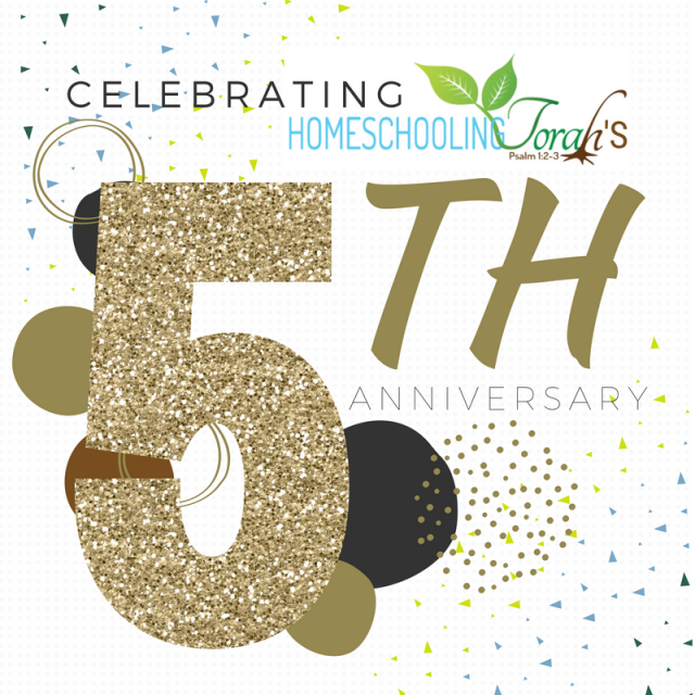 Happy 5th Anniversary to HomeschoolingTorah