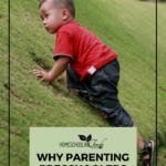 Why Parenting Preschoolers Isn't Easy