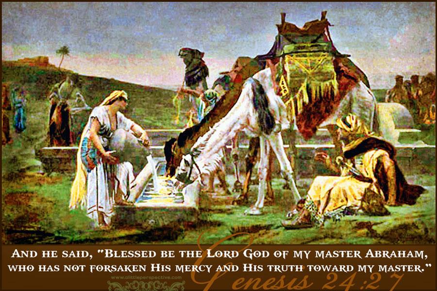 Abraham's Servant's Prayer