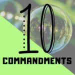 Fun Ways to Teach the Ten Commandments