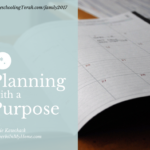 Planning with a purpose | HomeschoolingTorah
