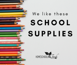 school supplies | HomeschoolingTorah
