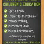 Customizing Your Children's Education